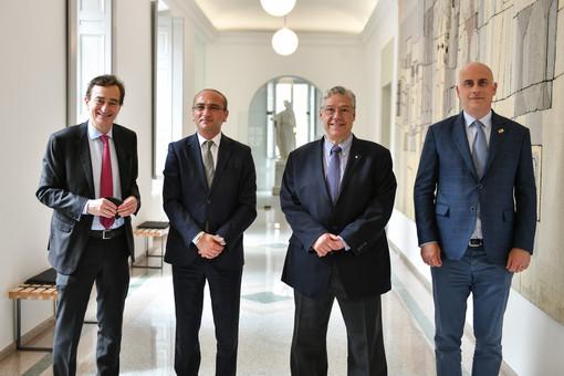 Lugano, ricevuto a Palazzo Civico l'ambasciatore della Georgia in Svizzera