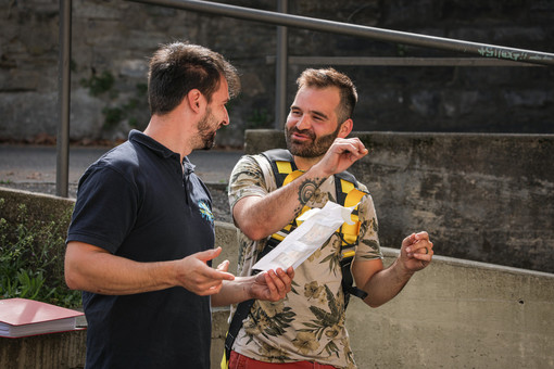 Intervento artistico del luganese Damiano Mengozzi ad Arte Urbana Lugano e LongLake Festival (Fotogallery)