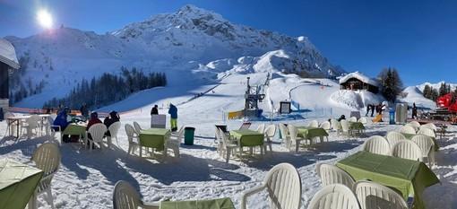 La stagione della neve ad Airolo-Pesciüm è ancora lunga...