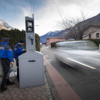 Gli autovelox della settimana in Ticino