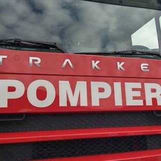 Principio d'incendio in una ditta che produce integratori alimentari, in via Riale Righetti a Bellinzona