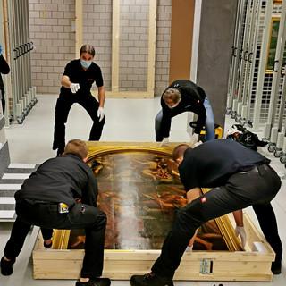 La pala d'altare di Callisto Piazza da Lodi torna a casa sua, a Lugano (Foto)