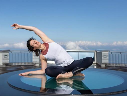 Risveglio Yoga ai 1704 metri del Monte Generoso