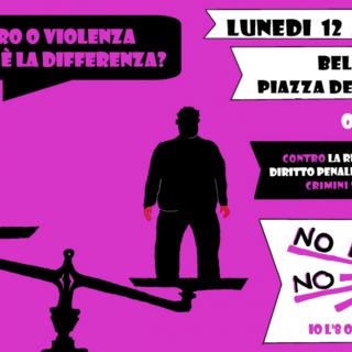 Stupro o violenza, qual è la differenza? Manifestazione a Bellinzona