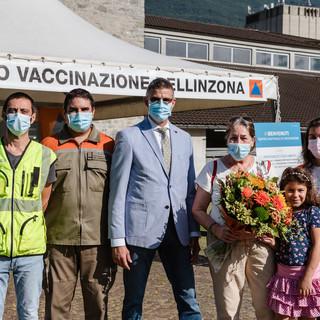 In Ticino superate le 400 mila dosi di vaccino somministrate