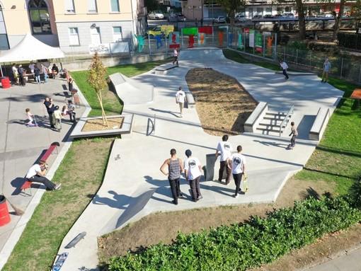 Lo skate plaza di Bellinzona