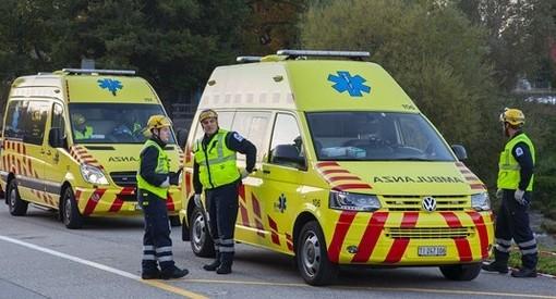 Incidente mortale a Mendrisio: la vittima è un centauro svizzero di 79 anni