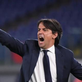 L'allenatore dell'Inter Simone Inzaghi